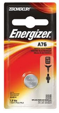 Image of Energizer Watch Battery 1.5 Volt A76 1 Each