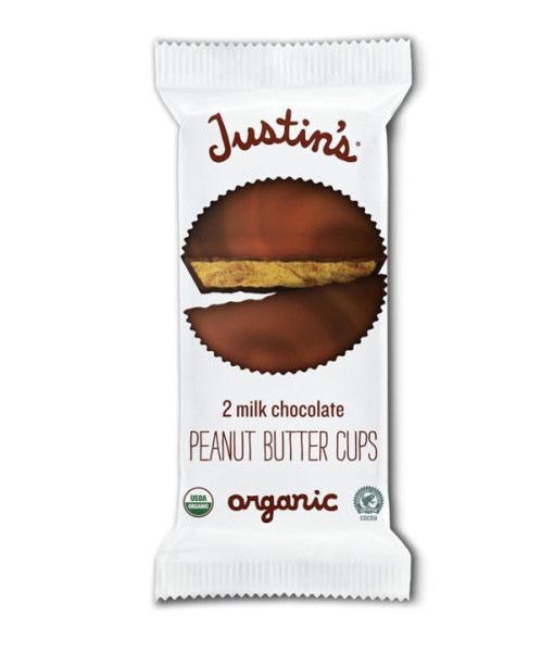 Justin's Organic Peanut Butter Cups, Milk Chocolate 1.4 oz, 1458275