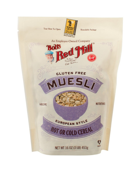 Bob's Red Mill Gluten Free Muesli 16 oz 1459540