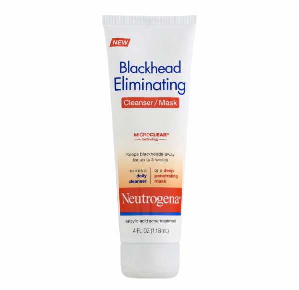 Neutrogena Blackhead Eliminating Skin Cleanser/Mask 4 oz 1305595