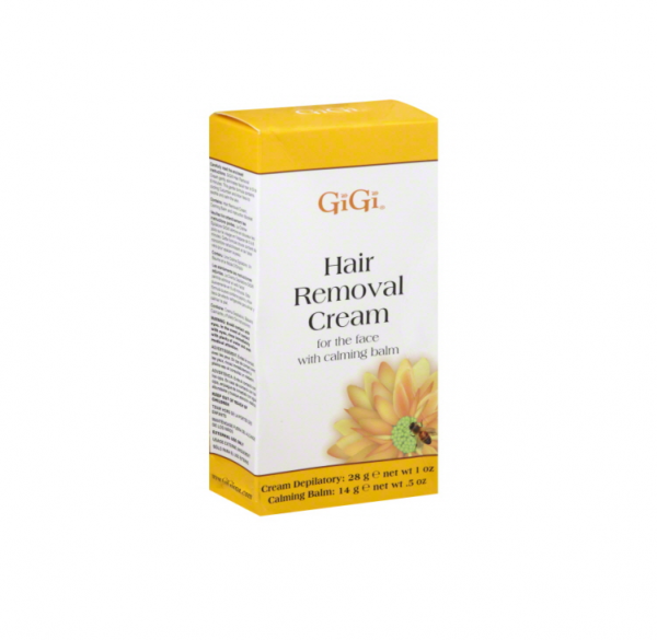 GiGi Hair Removal Cream for The Face, 1 oz & Calming Balm .5 1427325