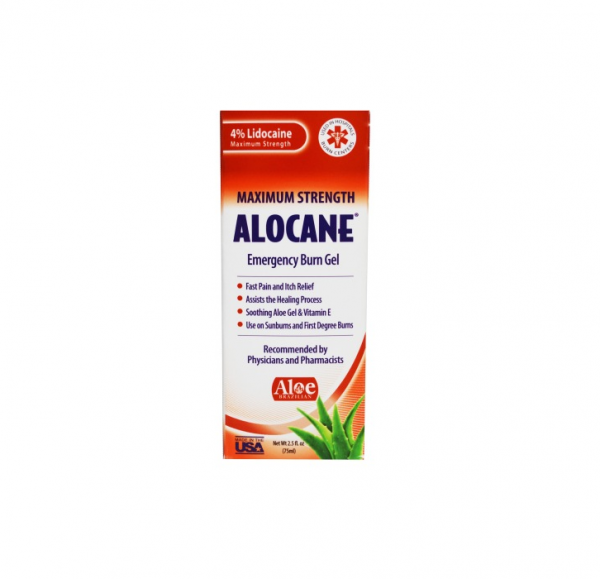 Alocane Maximum Strength Emergency Room Burn Gel 2.5 oz 1376445