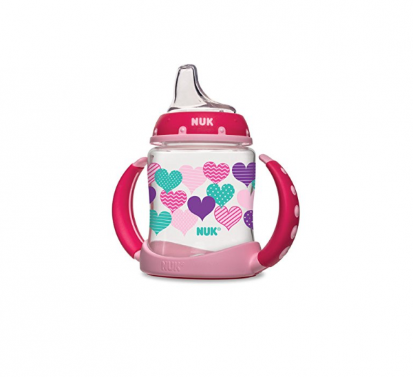 NUK Learner Cup with Silicone Spout, Assorted Colors 1 ea 1382520