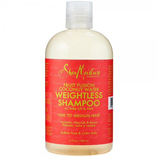 Shea Moisture Fruit Fusion Coconut Water Weightless Shampoo 1437325