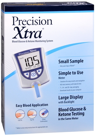 Precision Xtra Advanced Diabetes Management System 1 Each 1138160