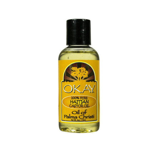 Okay 100% Pure Haitian Castor Oil, 4 oz 1390800