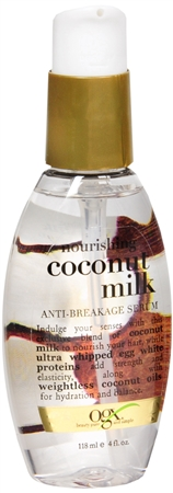 OGX Nourishing Coconut Milk Anti-Breakage Serum 4 oz 1206565
