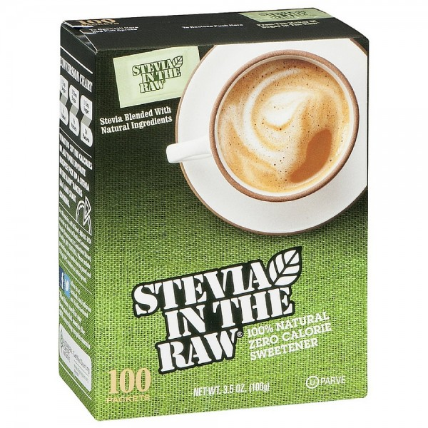 Stevia In The Raw Natural Sweetener 100 ea 1420110