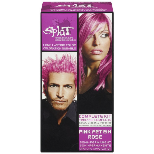 Splat Hair Color Complete Kit- Pink Fetish 1 ea