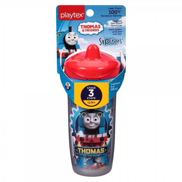 Playtex Sipsters Thomas the Train Spout Sippy Cups 1 ea 1443420