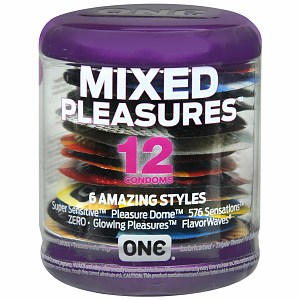 ONE Condoms, Mixed Pleasures 12 ea 1322780