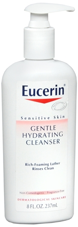 Eucerin Gentle Hydrating Cleanser 8 oz 1180160
