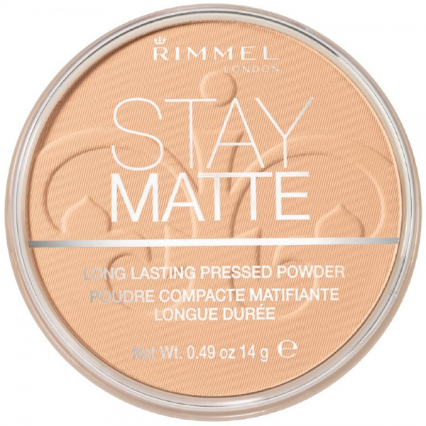 Rimmel London Stay Matte Long Lasting Pressed Powder, Nude B 1447850