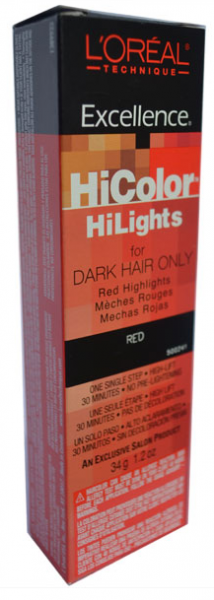 L'Oreal Excellence HiColor Red HiLights,  1.2 oz 1386910