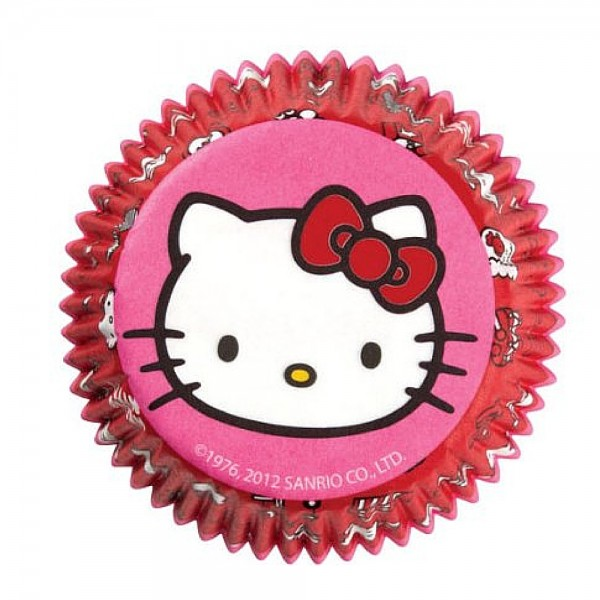 Wilton Standard Baking Cups, Hello Kitty 50 ea 1432265