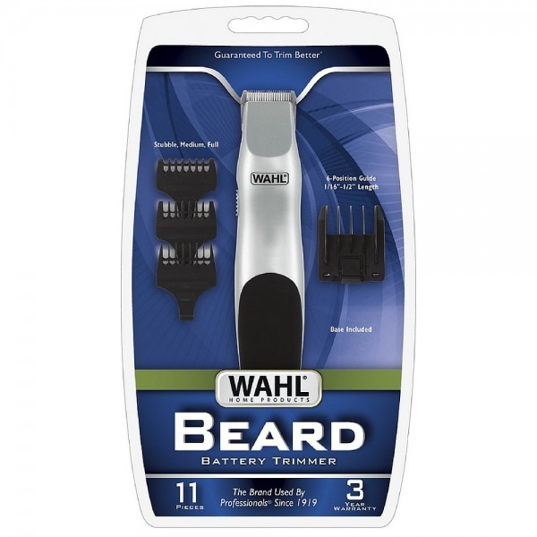 Wahl Cordless Battery Operated Beard Trimmer 1 ea 1416620