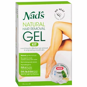 Nad's Gel Kit with Moisture+ Body Balm 6 oz 1206095