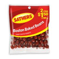 Sathers Boston Baked Beans 12 pack (2oz per pack) 1311330