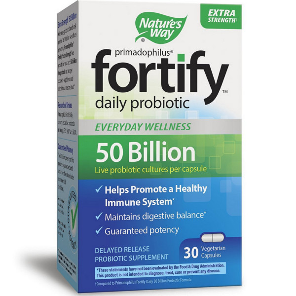 Nature's Way Primadophilus Fortify Daily Probiotic 30 ea 1546100