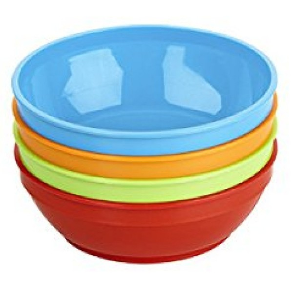 Image of Gerber Graduates Bunch-a-Bowls with Lids 4 ea