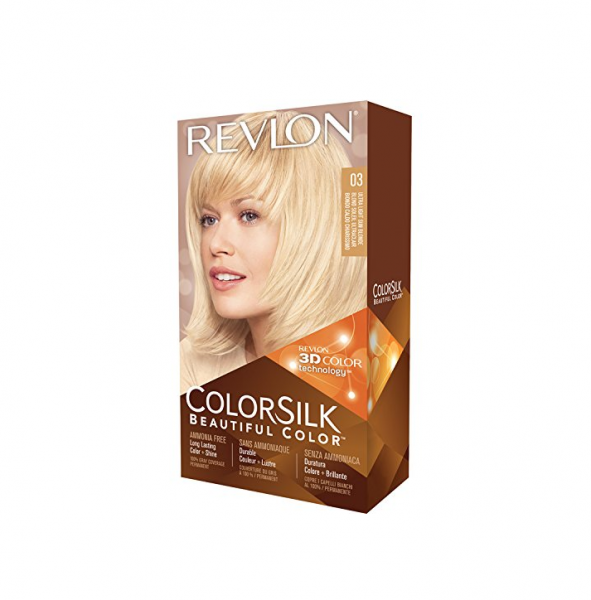 Revlon ColorSilk Hair Color, 03 Ultra Light Sun Blonde 1 ea 1183440