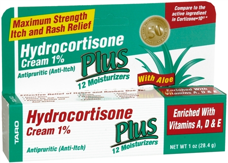 Taro Hydrocortisone Cream 1% 1 oz 1188310