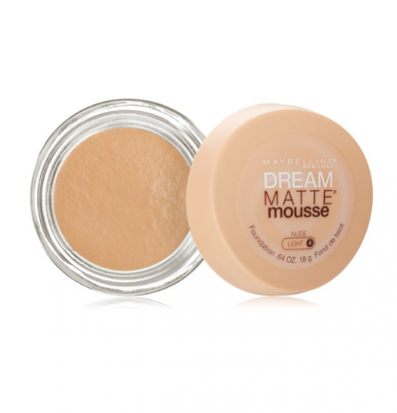 Maybelline Dream Matte Mousse Foundation, Nude [4], 0.64 oz 1347370