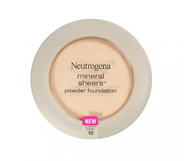 Neutrogena Mineral Sheers Powder Foundation, Classic Ivory [ 1372760