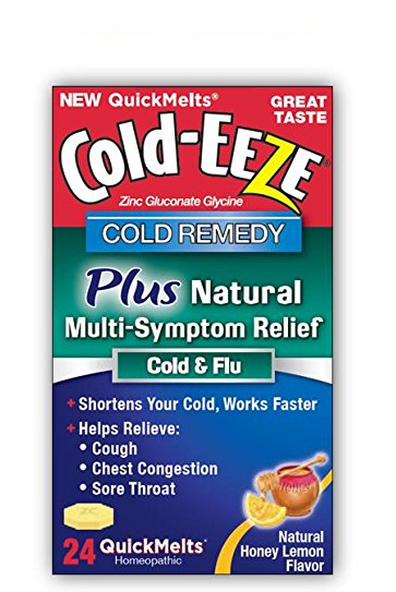 COLD-EEZE Cold Remedy Plus Natural Multi Symptom Relief Quic 1400435