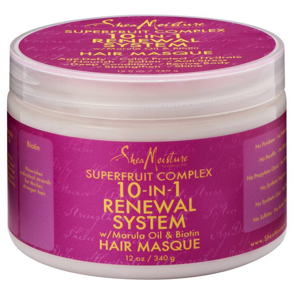 Shea Moisture 10-in-1 Renewal System Hair Masque 12 oz 1437550