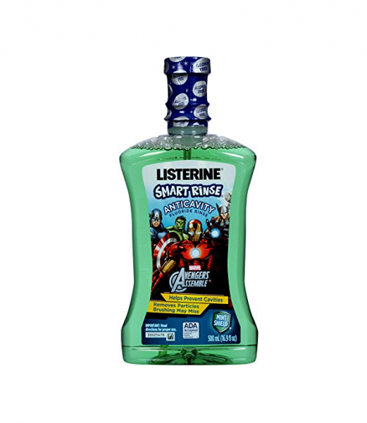 Listerine Smart Rinse, Mint Shield 16.9 oz 1225990