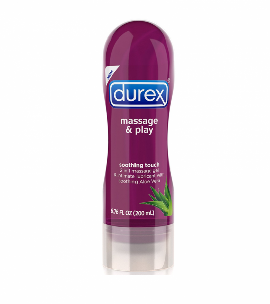 Durex Massage & Play 2-in-1 Massage Gel & Personal Lubricant 1343995
