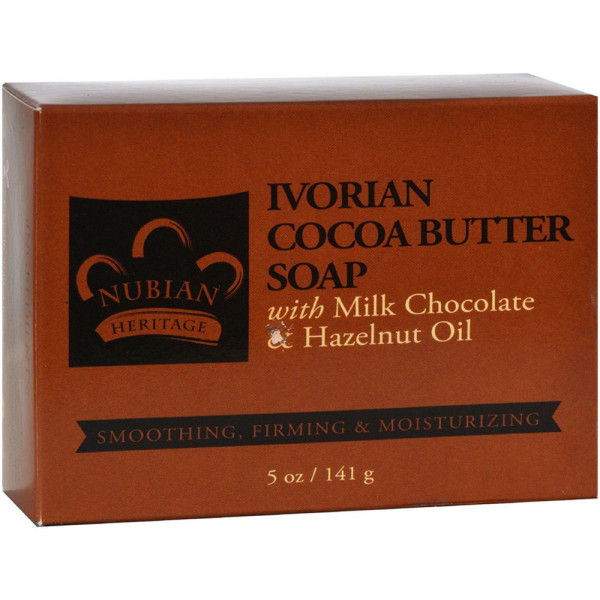 Nubian Heritage Bar Soap, Ivorian Cocoa Butter 5 oz 1500665
