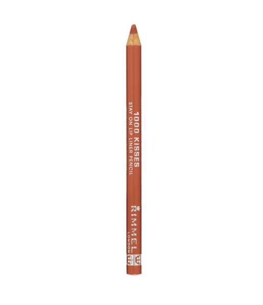Rimmel 1000 Kisses Stay On Lip Liner, Nude 1 ea 1351810