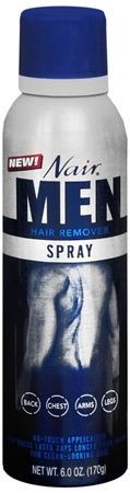 Nair For Men Hair Remover Spray 6 oz 1183985