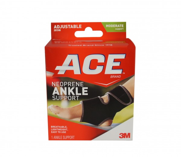 ACE Ankle Support One Size 1 Each 1141515