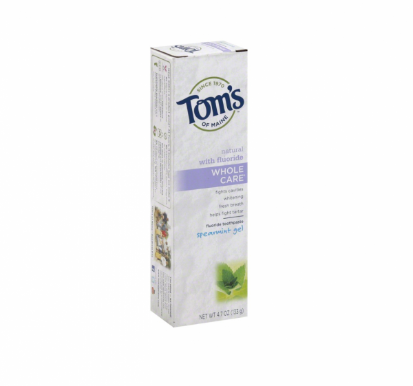 Tom's of Maine Whole Care with Fluoride Natural Toothpaste G 1310365