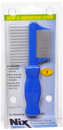 Nix Premium Metal Two-Sided Comb 1 Each 1215055