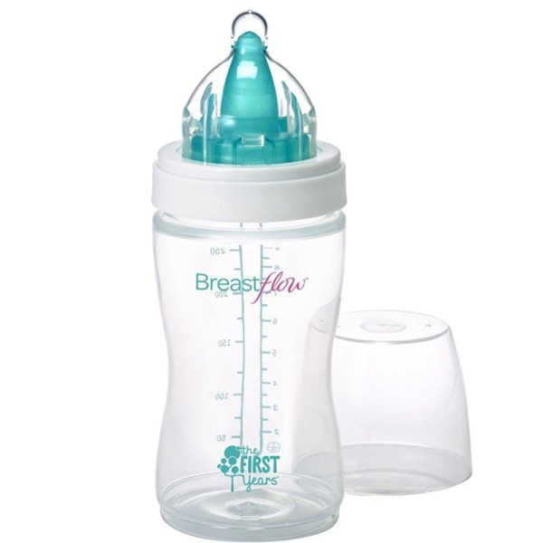 The First Years Breast Flow 9 oz Bottle 1 ea 1560205