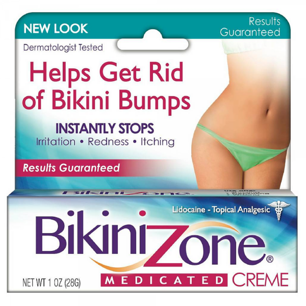 Bikini Zone Medicated Creme for Bikini Area 1 oz 1310585