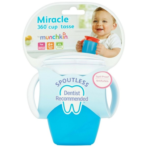 Munchkin Miracle 360° Cup 10 oz, Assorted Colors 1 ea 1444065