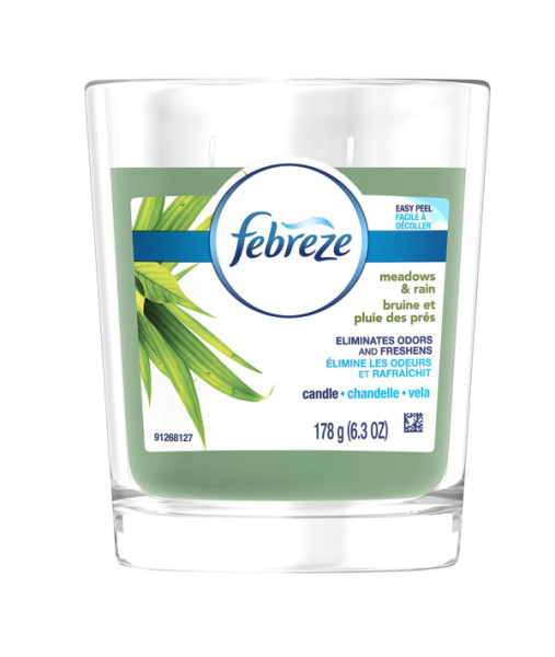 Febreeze Air Freshener, Scented Air Freshener Candle, Meadow 1525760