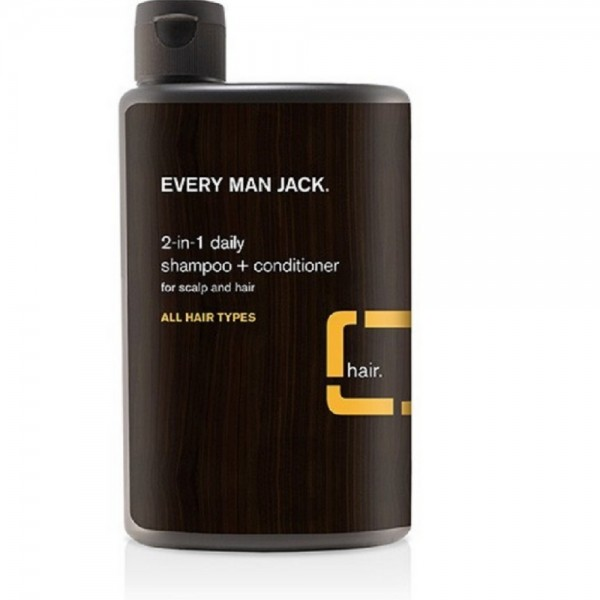 Every Man Jack 2-in-1 Daily Shampoo + Conditioner, Citrus 13 1457685