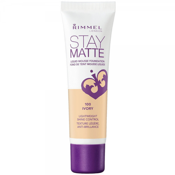 Rimmel London Stay Matte Liquid Mousse Foundation, Ivory [10 1445425