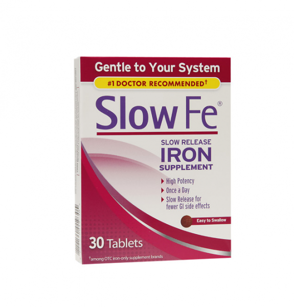 Image of Slow Fe Slow Release Iron, Tablets 30 ea