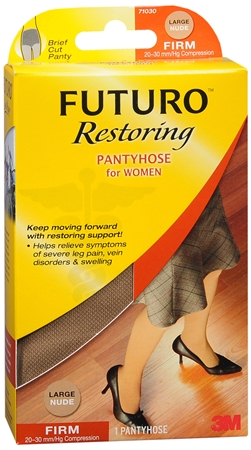 FUTURO Restoring Pantyhose Brief Cut Panty Firm Large Nude 1 1220400