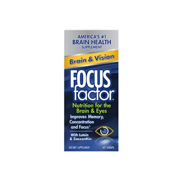 Focus Factor Dietary Supplement, Brain & Vision, 60 ea