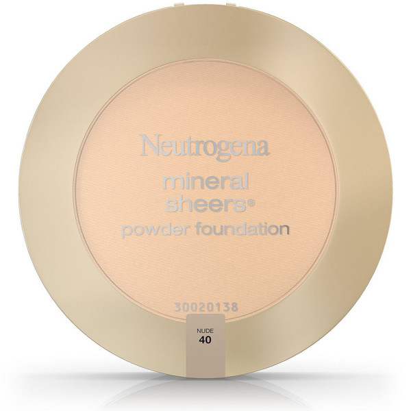 Neutrogena Mineral Sheers Powder Foundation, Nude [40] 0.34 1450610