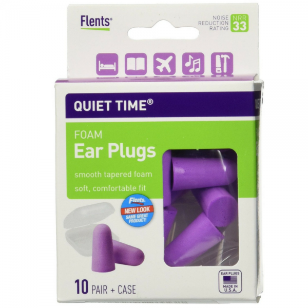 Image of Flents Quiet Time Soft Foam Ear Plugs with Carrying Case 10