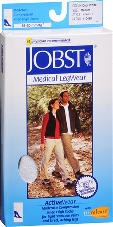 JOBST ActiveWear Knee High Socks Moderate Compression Closed 1137505
